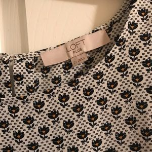 LOFT Tops - Loft blouse 3/4 sleeves